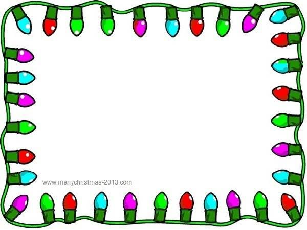 Free Borders Christmas Clip Art Borders For Word Documents | Classroom  Ideas | Pinterest | Christmas Light Clips, Borders Free And Christmas Lights  Free Border For Word