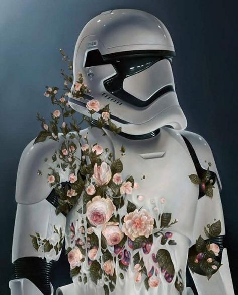 Ces Dessins Inspirés Par Star Wars Le Réveil De La Force
