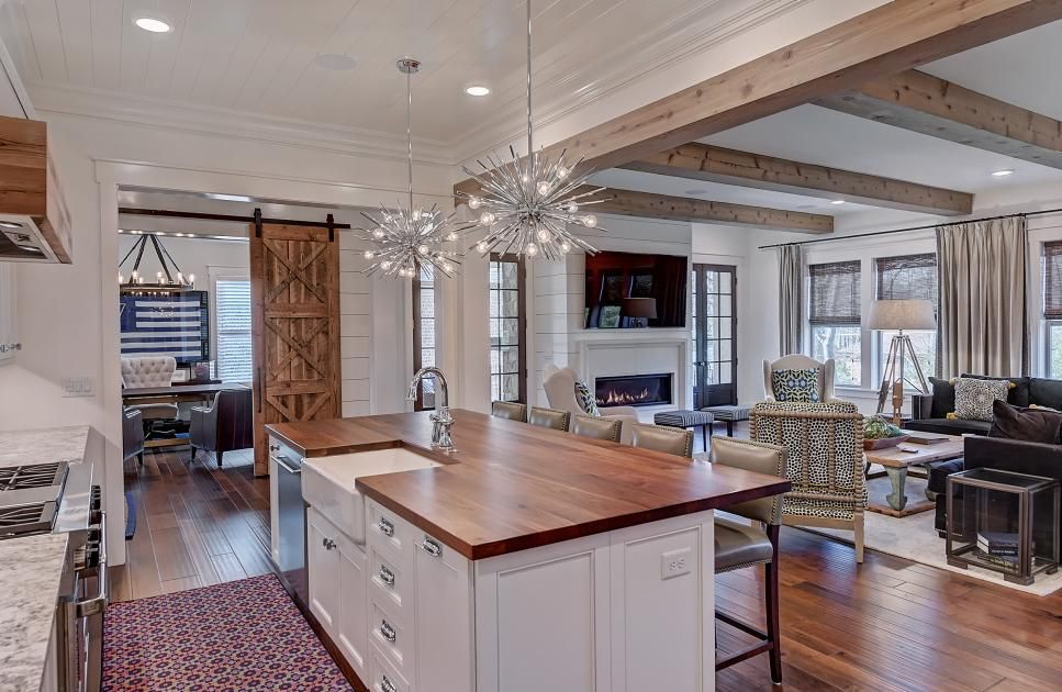 amazing kitchens hgtv s ultimate house hunt 2020 hgtv in 2020 modern farmhouse kitchens on kitchen remodel modern farmhouse id=79622