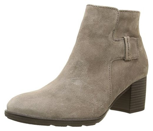 Gabor Shoes 55 682 Damen Kurzschaft Stiefel Grau Wallaby 13 36