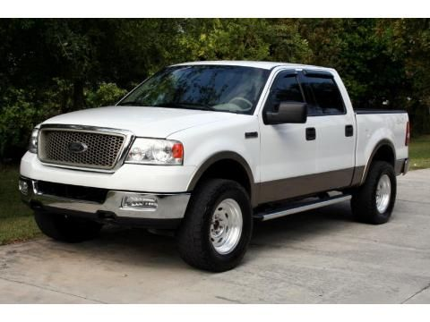 Oxford White Ford F150 Lariat Supercrew 4x4 2004 With Images