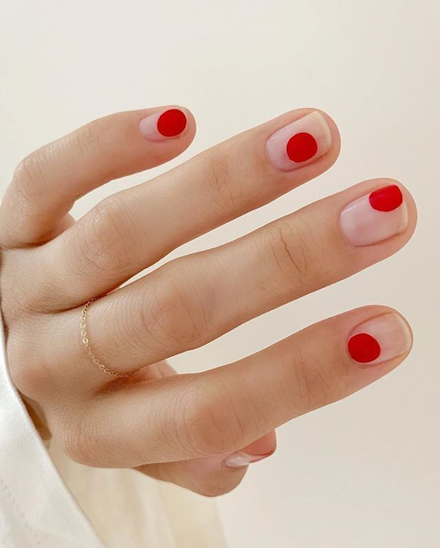 One thing everyone needs in their beauty arsenal? A classic red polish. Tap the link in our bio for 12 of the best reds of all time. #regram: @betina_goldstein #manimonday