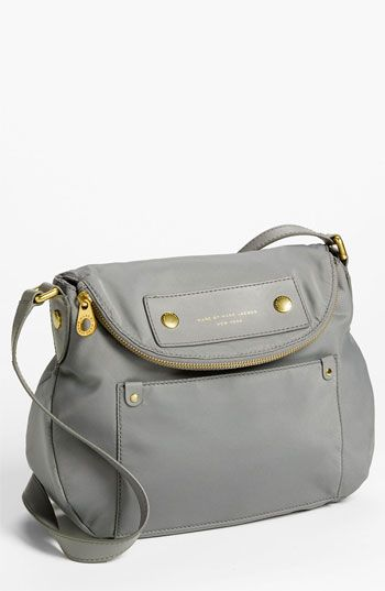 MARC BY MARC JACOBS  Preppy Nylon - Natasha  Crossbody Bag in gray  available at  Nordstrom  178 52c50f2e115a3