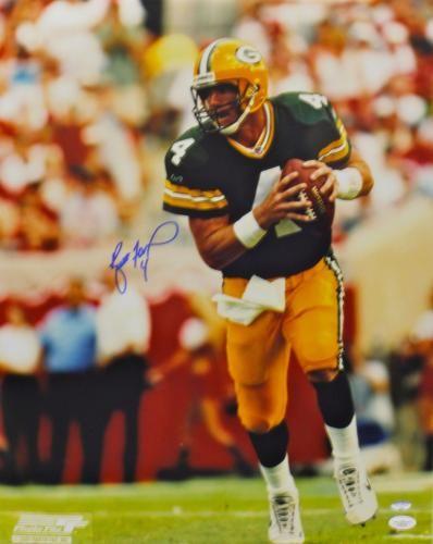 Brett Favre Signed Packers 16x20 Photo JSA