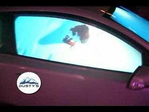 Volvo Projector Car Snowboard SIA 2008