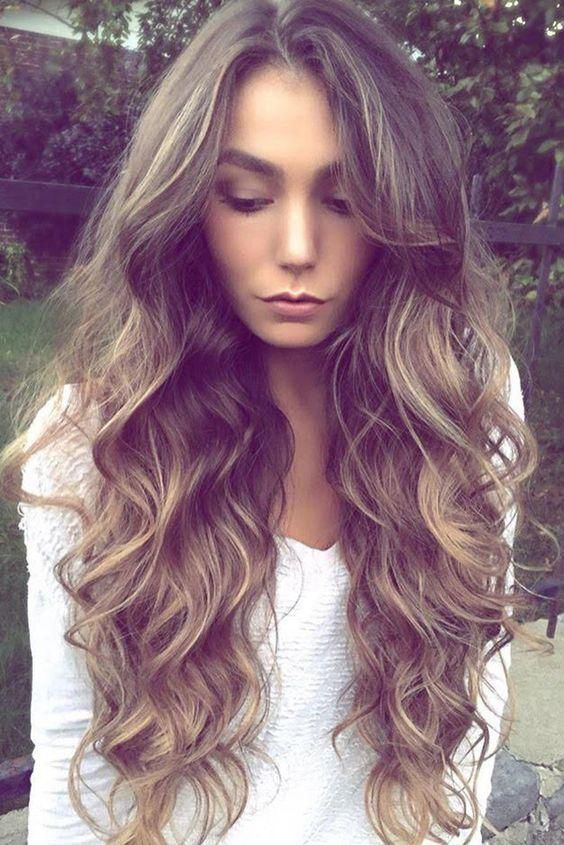 13 Wavy Long Hair Ideas For This Fall&Winter | Pinterest | Curly ...
