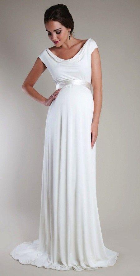Vestido novia premama barato
