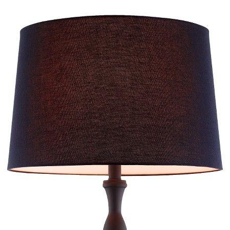 Extra Large Linen Lamp Shade - Black : Target | Lighting ...