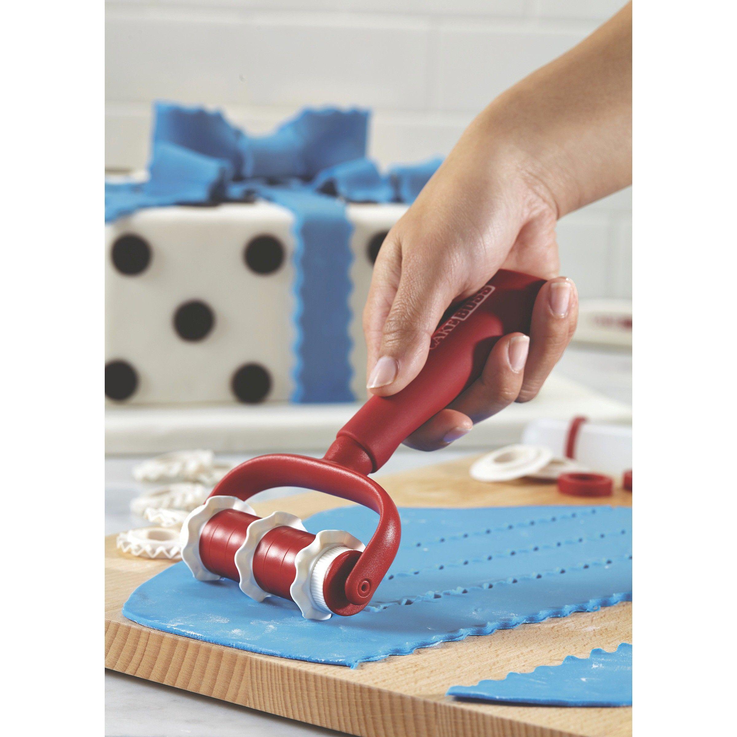 Cake boss decorating tools fondant ribbon cutter