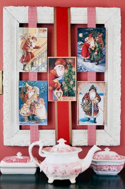 10 Christmas Card Display Ideas Pinterest Card displays, DIY
