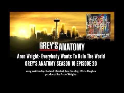 Grey S Anatomy Music Season 10x20 Aron Wright Everybody Wants To