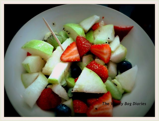 Monday's Meal of the Day (MOTD) - Fruit Salad !