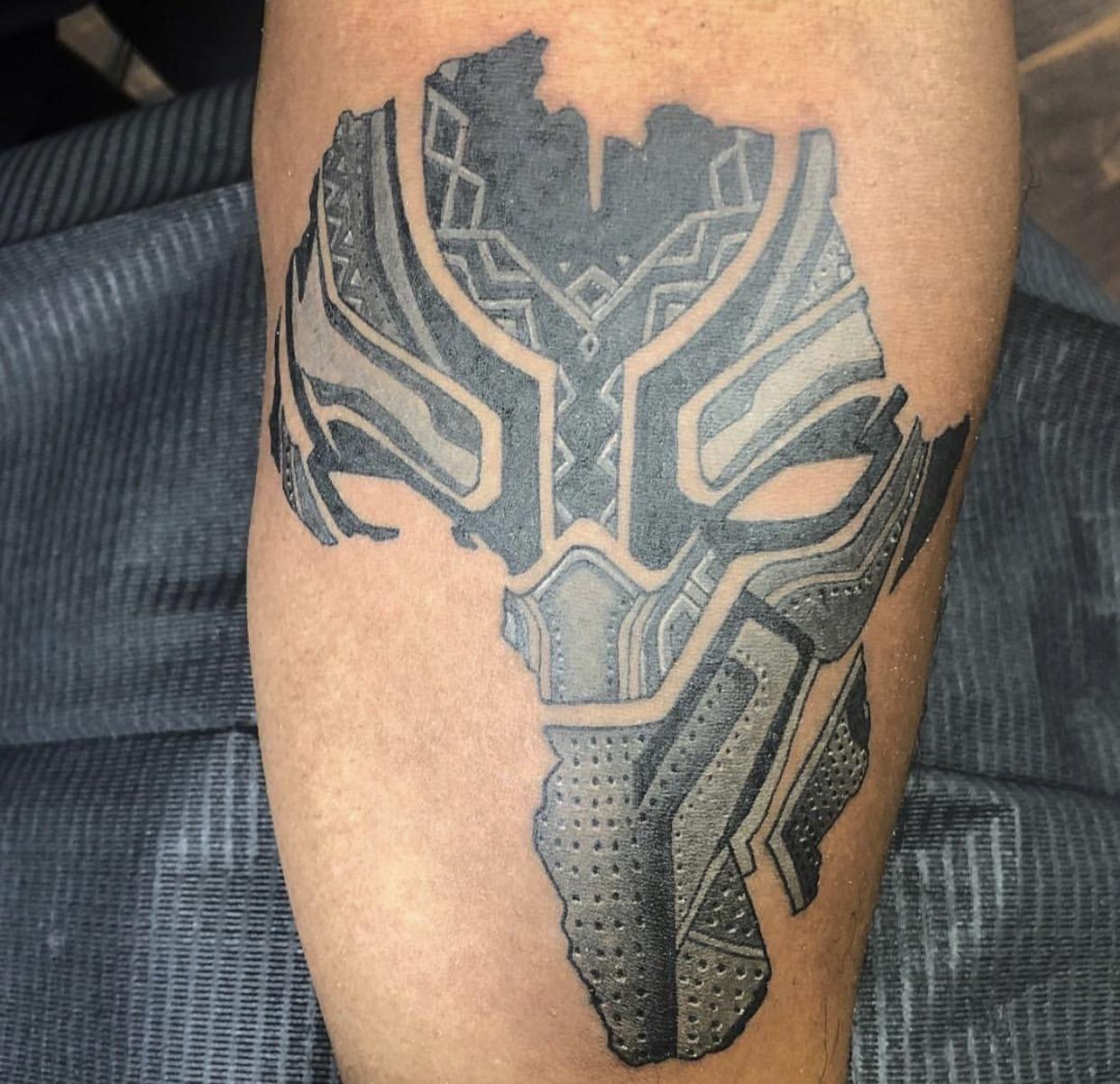 This Black Panther Tattoo Panther Tattoo Black Panther Tattoo Black Tattoos