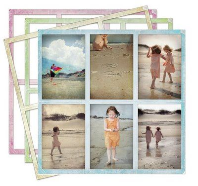 Free Blog Frame Photo Collage {ShabbyBlogs.com}