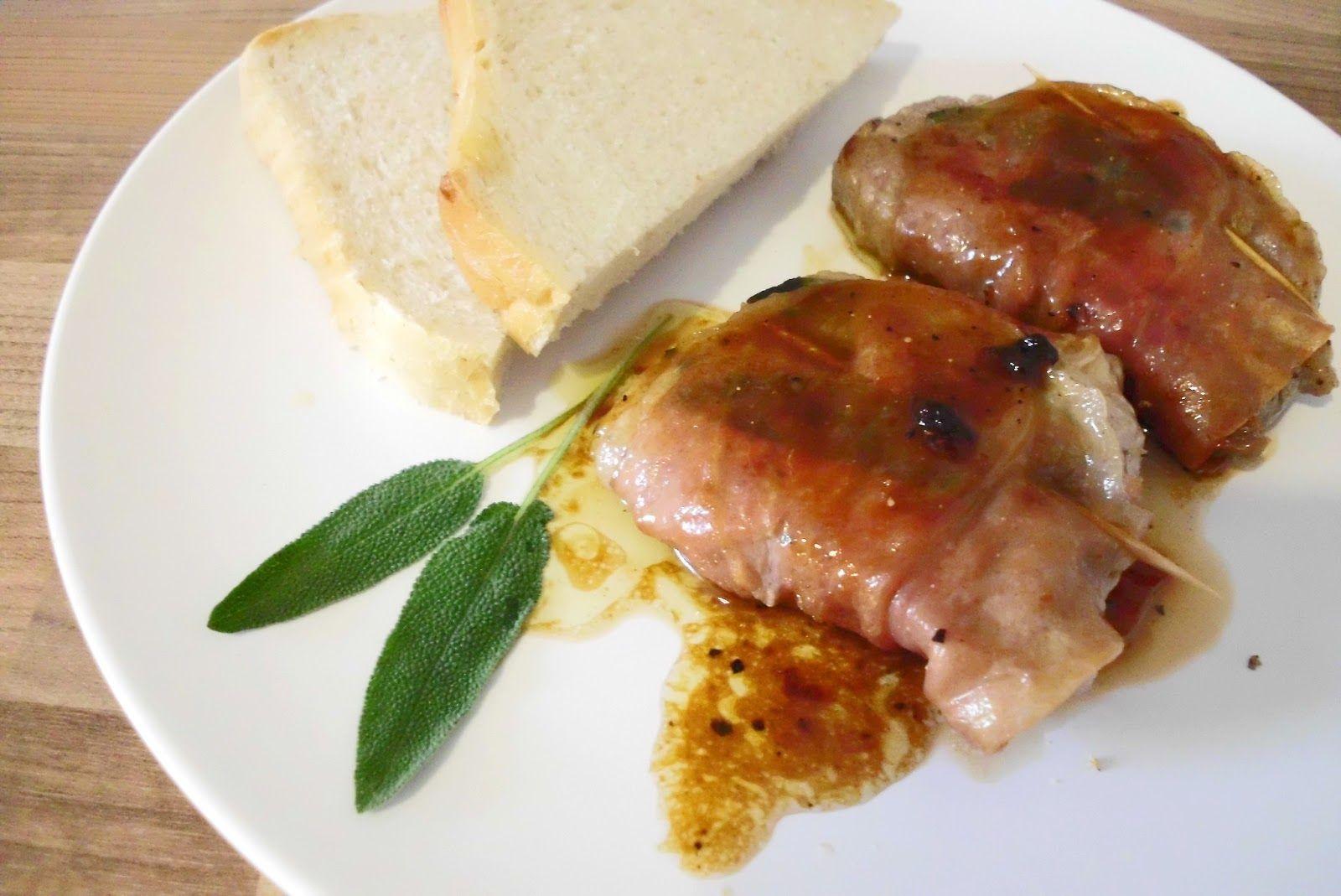 I saltimbocca alla romana assieme alla carbonara ai for Secondi piatti della cucina romana