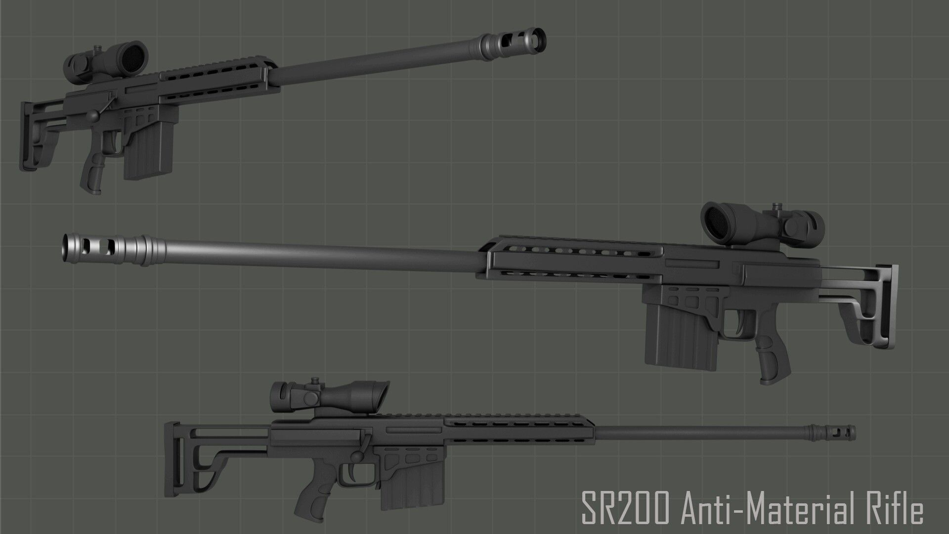 My second time creating a 3d rifle model cant find a single free my second time creating a rifle model cant find a single free blueprint on the net so the width dimension is mostly guesswork malvernweather Choice Image