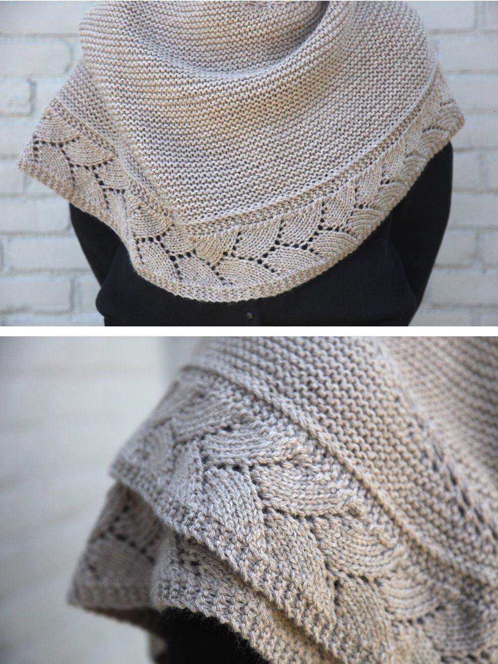 Free pattern | Ideas para manualidades | Pinterest | Tejido, Chal y ...
