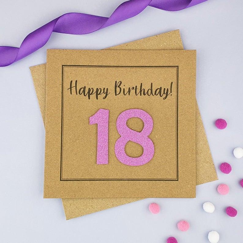 Personalised 30th Birthday Card 18th Birthday Card With Name Etsy 30th Birthday Cards 18th Birthday Cards Birthday Card With Name