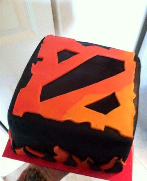 Dota 2 cake made for my boyfriends birthday Food Pinterest