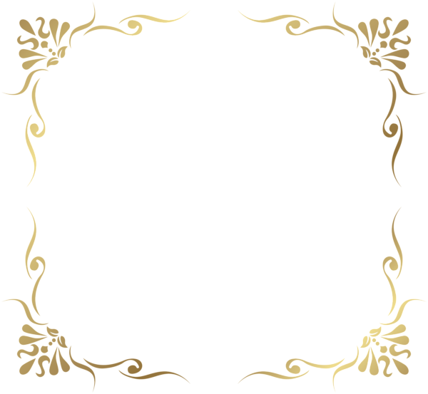 Border Gold Decorative Frame Png Clip Art Gallery Yopriceville High Quality Images And Transparent Png Free Cli Clip Art Borders Frame Decor Free Clip Art