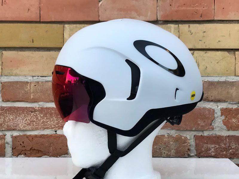 ff811c582ad6b Oakley Aro 7 tt triathlon aero road bike helmet