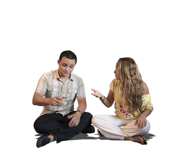 High Res Free People Cutouts Couple Sitting On Floor And Talking People Png People Cutout Render People