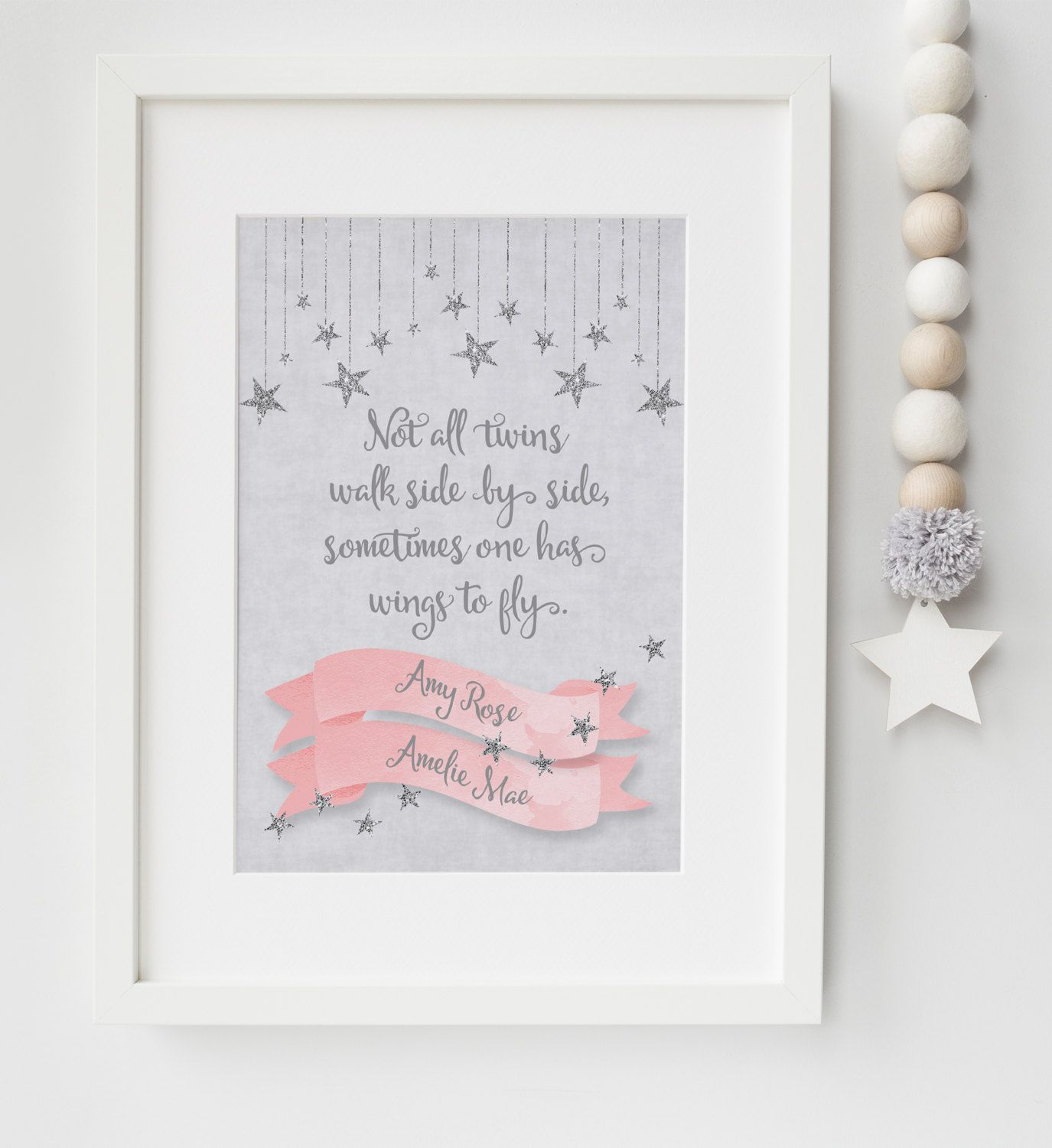 personalised baby infant loss twins memorial remembrance keepsake