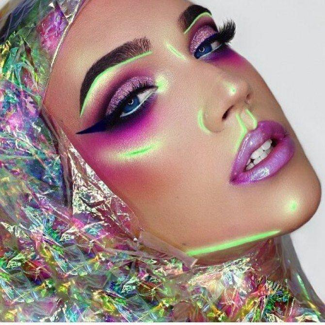 Maquillaje neón Maquillaje - Makeup Pinterest Makeup, Makeup