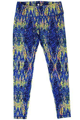 ac03f7cd9f 90 Degree By Reflex - Peachskin Brushed Printed Leggings - Yoga Pants