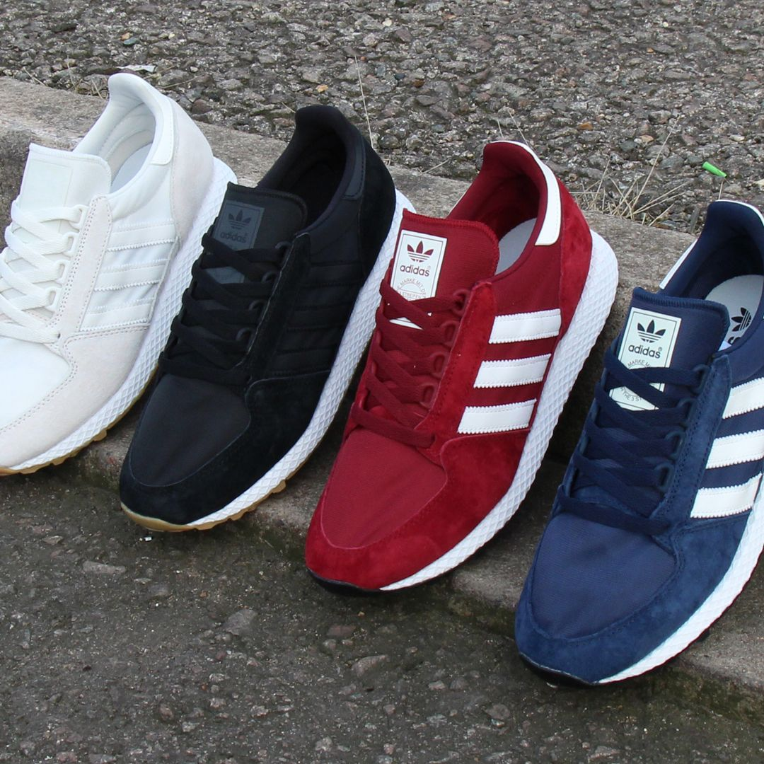 An 80s adidas style, the 2018 Forest Grove is online in