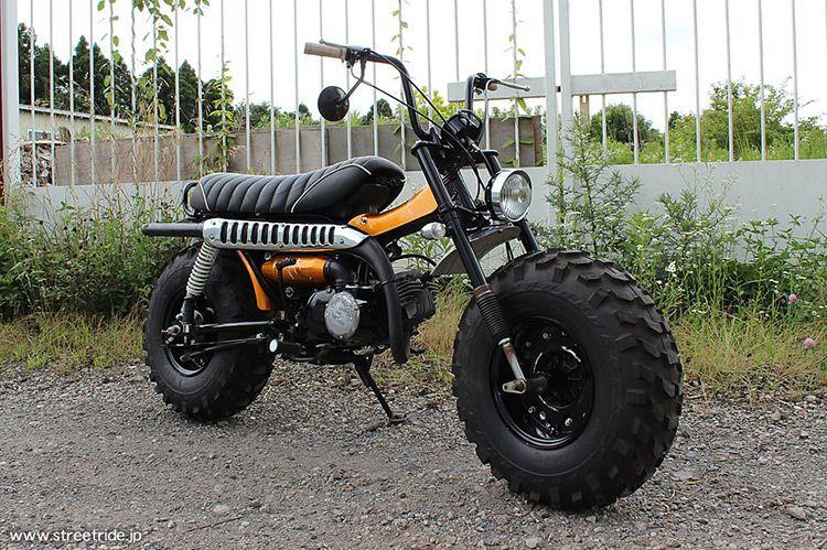 sure-shot-suzuki-rv90-vanvan-05 | custom motorcycles | pinterest