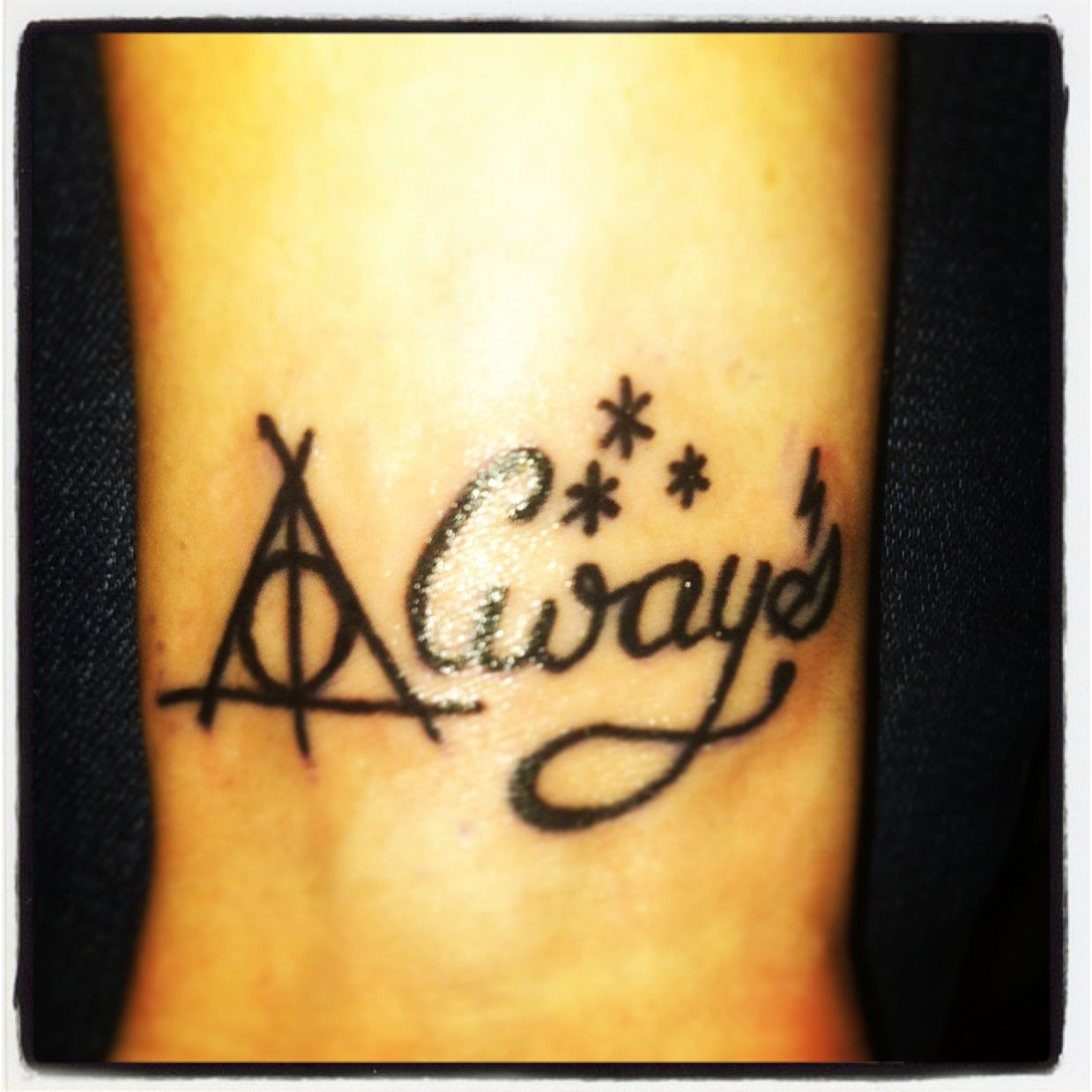 Always Harry Potter And The Deathly Hallows Wrist Tattoo Gotta