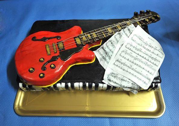 torta chitarra e piano