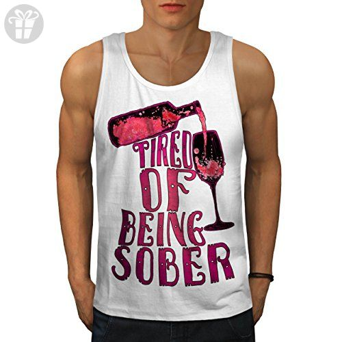 Alcohol Saying Beer Funny Drinking Men XL Tank Top | Wellcoda - Funny shirts (*Amazon Partner-Link)