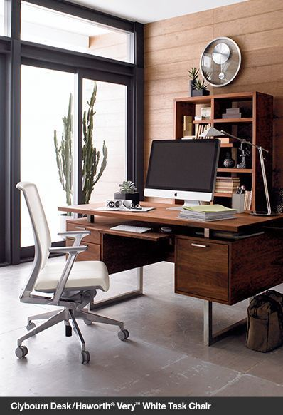 Home Office Furniture Crate And Barrel Masculine Home Offices