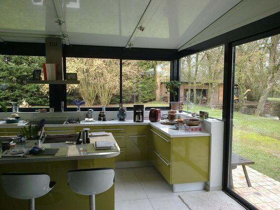 cuisine dans une véranda veranda Pinterest Verandas - cuisine dans veranda photo