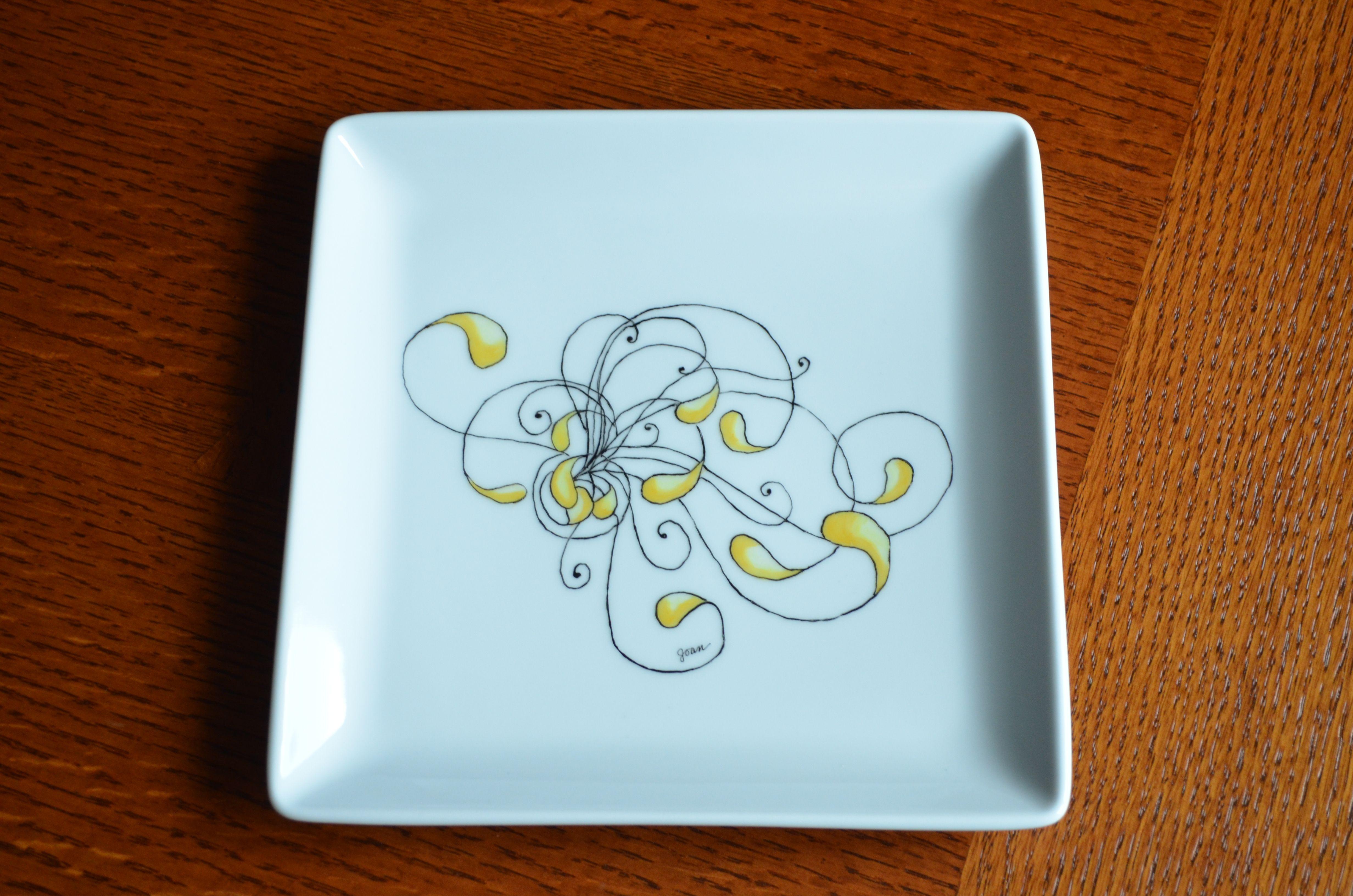 #24 Zentangle Plate 2