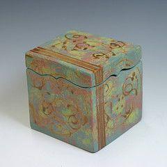 Debbie Henson Clay Box Slab Ceramics Ceramics