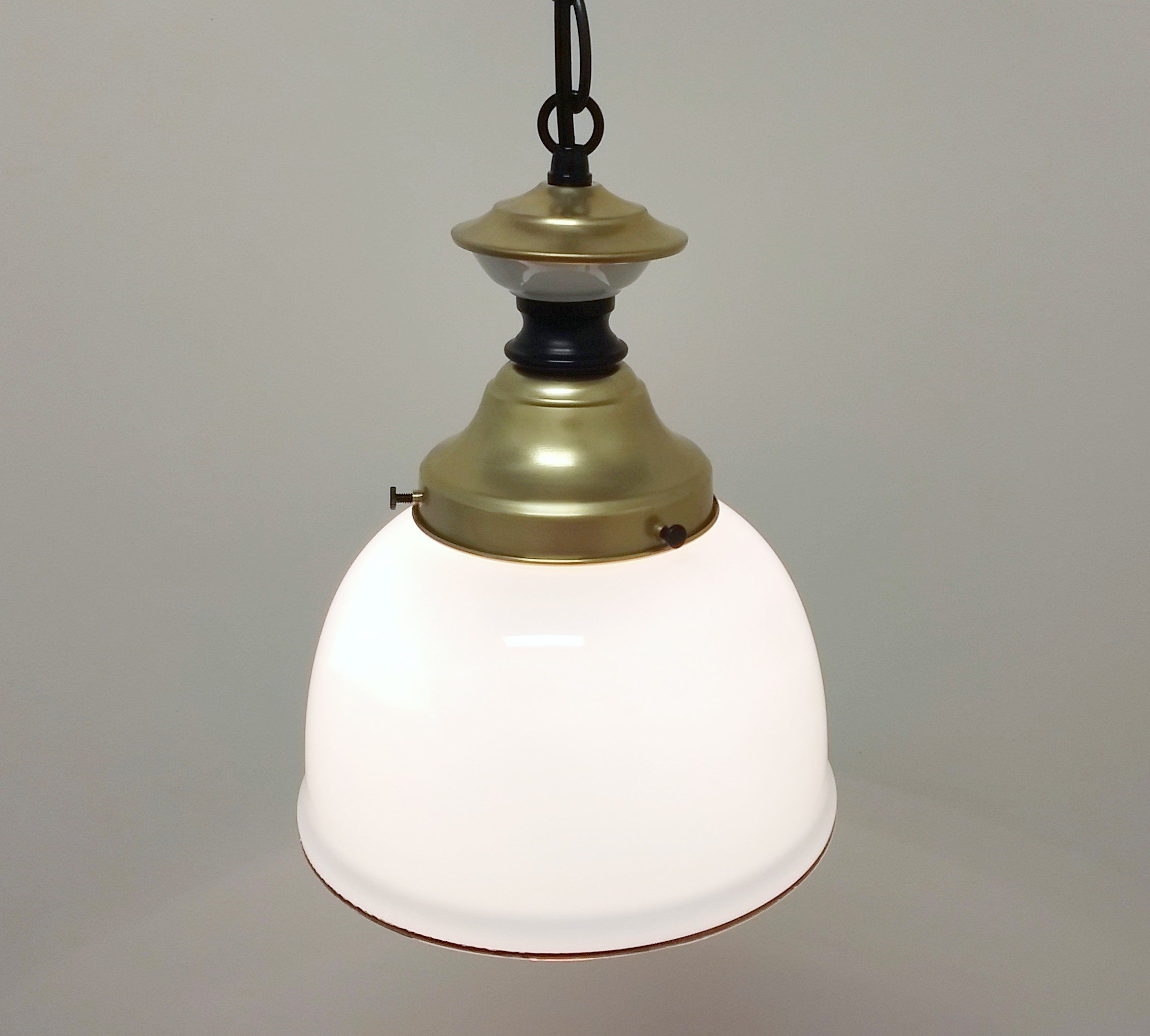 Ships In 1 3 Business Days Antique Hand Blown Glass Turned Into A Traditional Pendant Light Pendant Light Traditional Pendant Lighting Glass Pendant Light