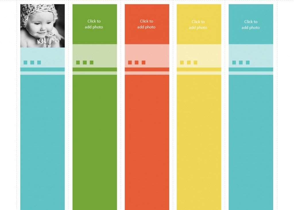 The Avery Bookmark Template Will Help Streamline The Creative Effort
