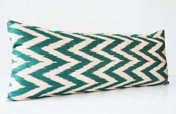 Sukan / Bolster Pillows Body Pillows Handwoven Original by sukan, $159.95
