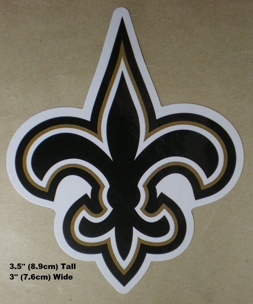 Orleans Saints Nfl Decal Stickers Football Team Logo Your Choice