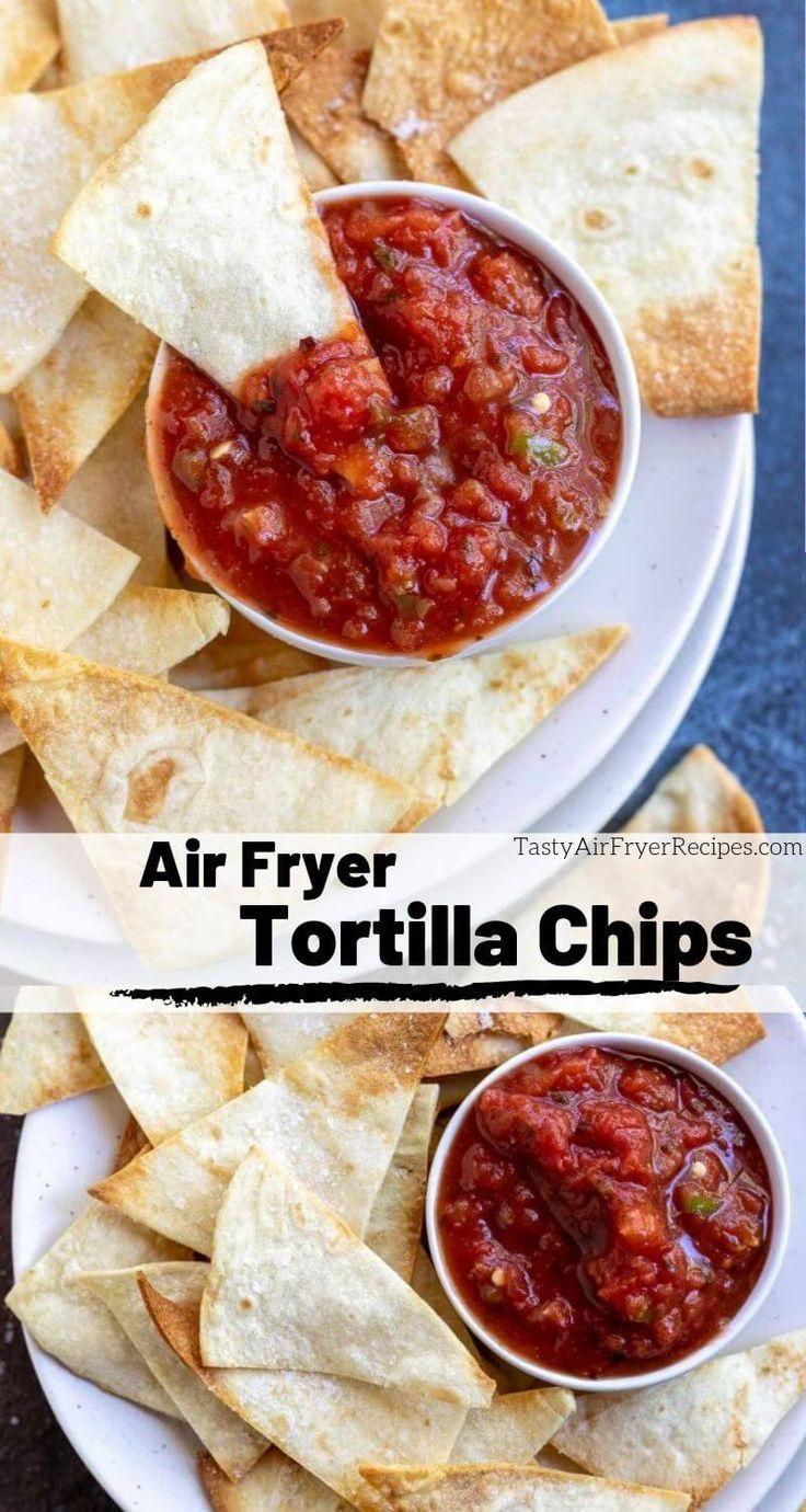 Air fryer tortilla chips recipe in 2020 air fryer