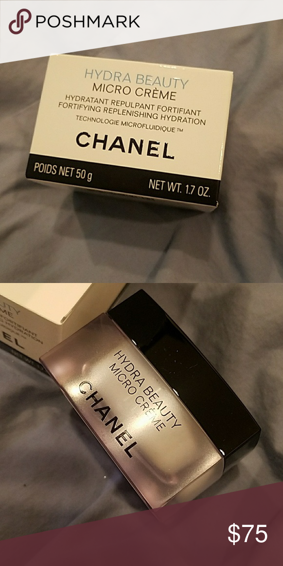 Chanel Creme Hydra Beauty Micro Creme New In Box Authentic Chanel Makeup Chanel Creme Chanel Makeup Chanel