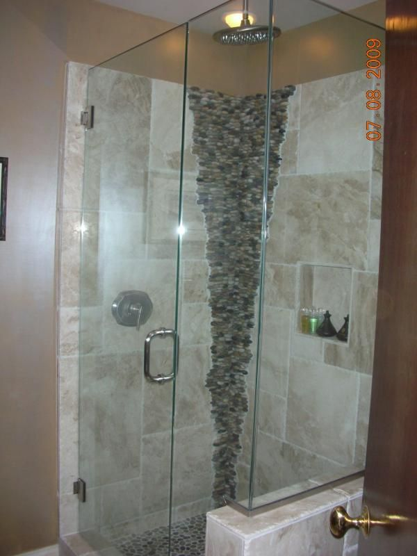 Frameless Shower Doors | Frameless Heavy Glass Shower With U Channel  Frameless Heavy Glass .
