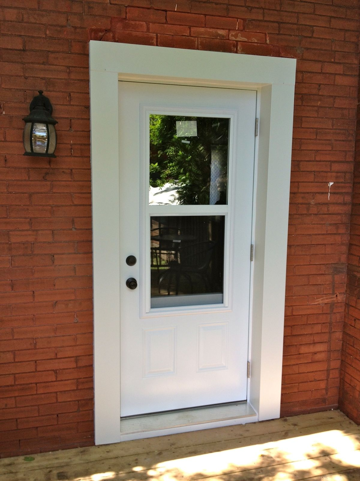 Exterior Door With Windows That Open Istranka for