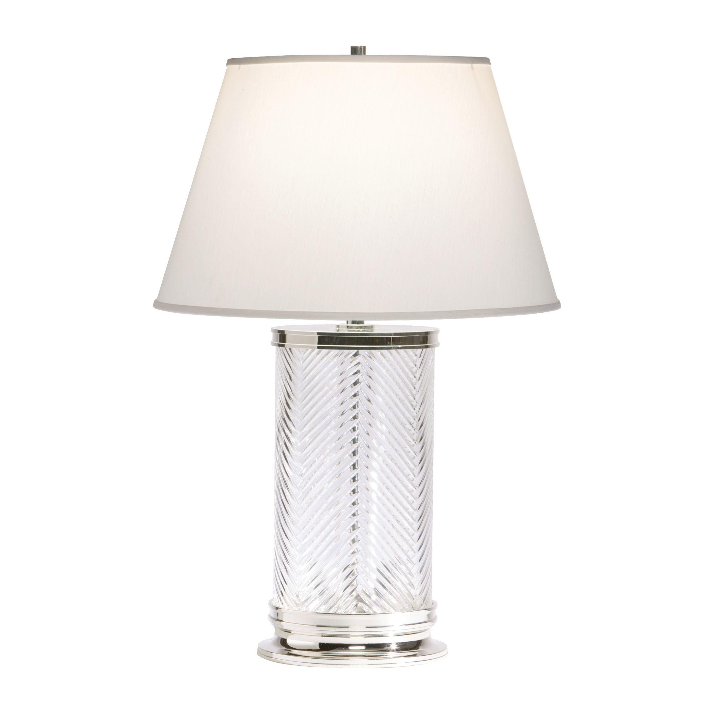 Herringbone Crystal Table Lamp   Ethan Allen US. Herringbone Crystal Table Lamp   Ethan Allen US   Lamps