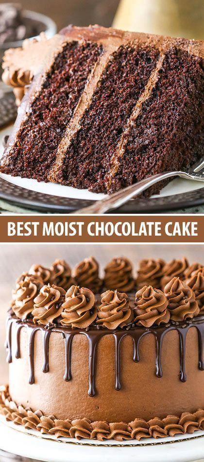 The BEST Moist Chocolate Cake Recipe!