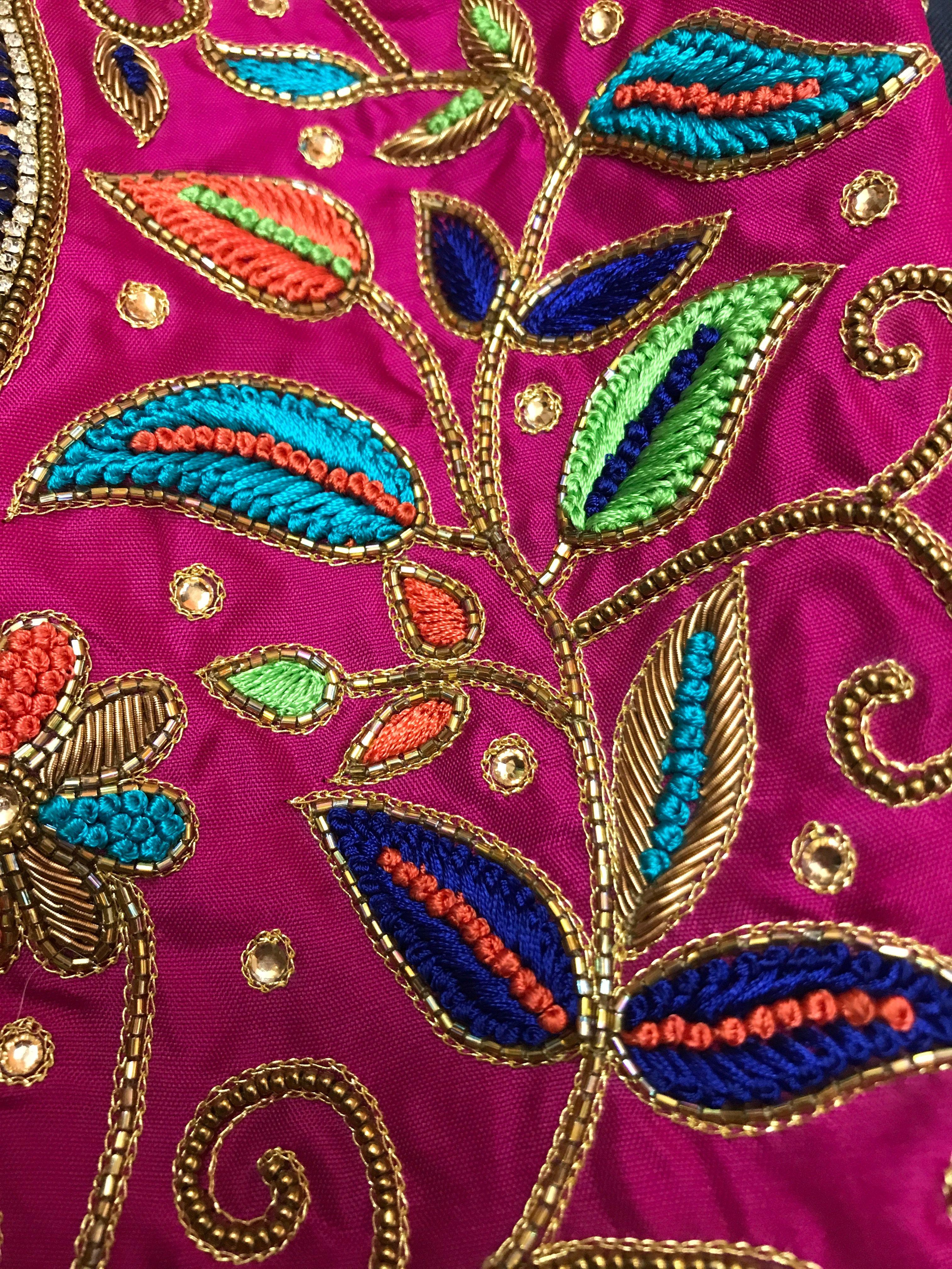Pin de Kruti Patel en Work   Pinterest   Bordado, Piedra y Bordado ...