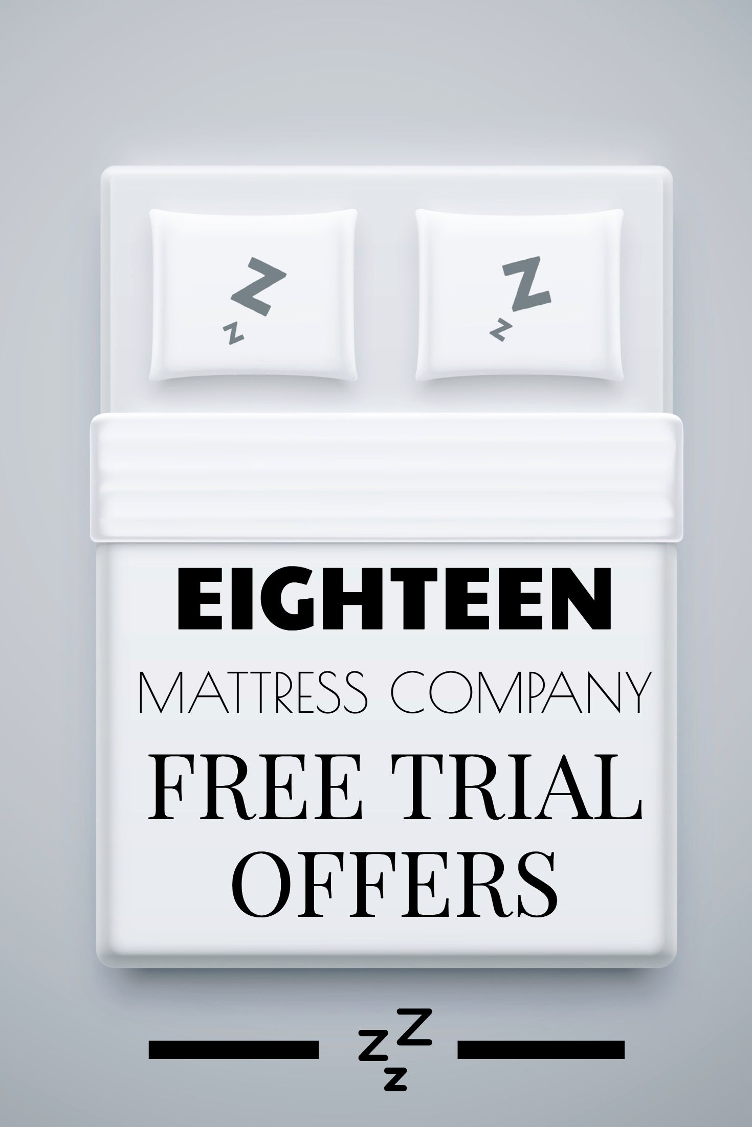 18 Mattress Company Free Trial Offers